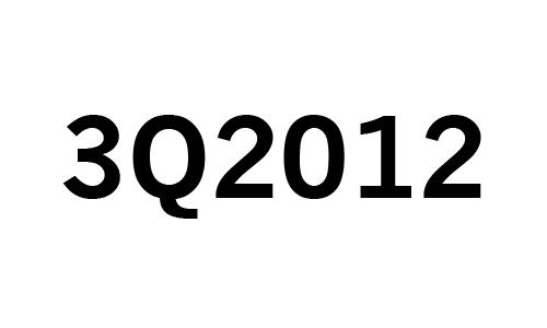 3Q2012