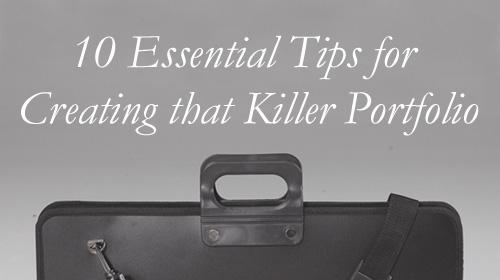 10 essential tips for creating that killer portfolio design sojourn. Black Bedroom Furniture Sets. Home Design Ideas