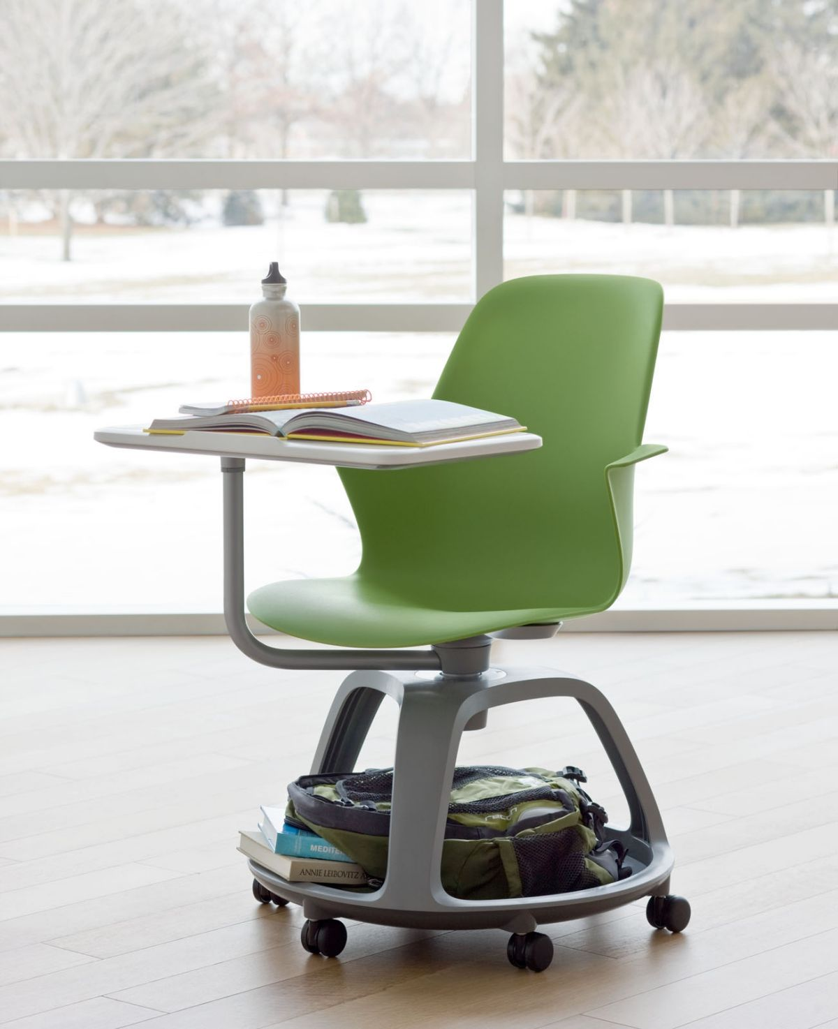 IDEO and Steelcase Unveils Schooldesk of the Future